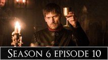 """Game of Thrones After Show Season 6 Episode 10 """"The Winds of Winter"""""""
