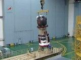 КК Союз ТМА-19. Работы в МИКе. Spacecraft Soyuz TMA-19.