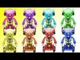 터닝메카드 장난감 슈마 보라 핑크 레드 블루 초록 노랑 하늘색 주황색 색변신 메카니멀 터닝카  동영상 Turning Mecard Transformes