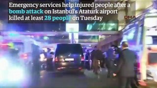 Turkey airport attack- explosions at Istanbul Atatürk -