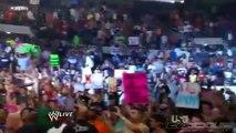 CM Punk and John Cena Staredown [WWE Monday Night RAW 7/25/11] (HQ)