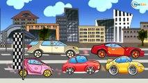 Мультики про Машинки - Гоночные Машины. Монстр Трак и Гоночная Машинка. Мультфильмы для детей