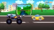 Cars Cartoons for children - Tow Truck with Ambulance. Emergency Vehicles & Trucks Kids Cartoon