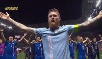 İzlanda'nın çeyrek final coşkusu