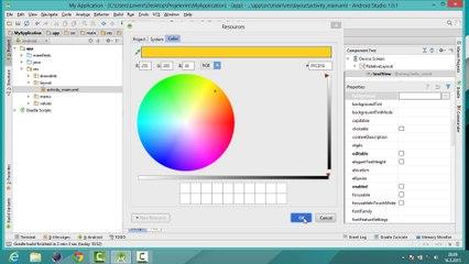 #03 Arayüzün Tanıtılması TextView in Temel özelliklerinin belirlenmesi