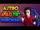 Astro A40 TR with Mixamp Pro for Xbox One/PS4 UNBOXING