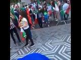 La victoire italienne ternie par un geste stupide à Charleroi