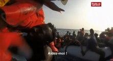 """Au péril de leur vie : """" Les migrants ne savent pas nager """". Extrait du documentaire inédit de Jean-Paul Mari"""