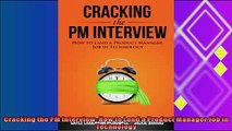 different   Cracking the PM Interview How to Land a Product Manager Job in Technology