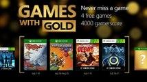 Juegos con Gold Xbox One y Xbox 360 _ Julio 2016