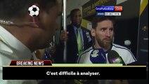 Lionel Messi à décidé de prendre sa retraite internationale