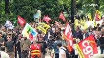 Loi Travail : une manifestation dans le calme