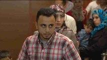 33 refugiados sirios comienzan su nueva vida en España