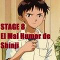 Manga - Neon Genesis Evangelion - Audio Latino - STAGE 8 - El Mal Humor de Shinji - Tenshi Mex
