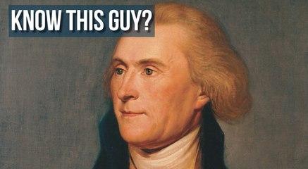 Thomas Jefferson - Minute Motivations form Leadr Inspire
