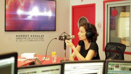 Audrey AZOULAY, Ministre de la Culture sur Radio FG