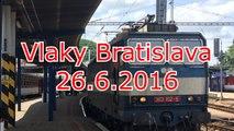Bratislava hlavná stanica | 26.6.2016 | sestřih