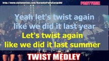 TWIST MEDLEY - VARIOUS KARAOKE PARTY WITH LRYCS