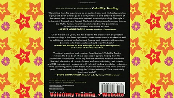 READ book  Volatility Trading  Website Full Free