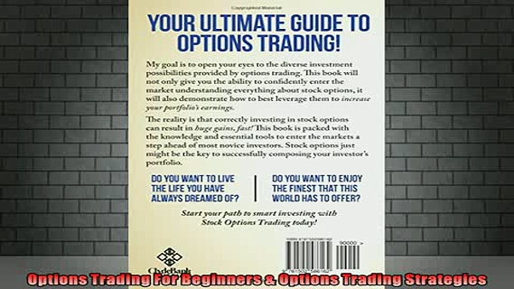 READ book  Options Trading For Beginners  Options Trading Strategies Full EBook