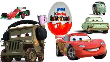 Kinder Surprise Surprise Eggs киндер сюрпризы тачки Cars Disney