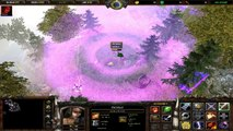 Warcraft 3: Astral 2 Custom Map - Gameplay Footage [HD]