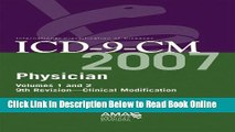 Read AMA ICD-9-CM Physician Compact Vol. 1   2 (Ama Physician Icd-9-Cm (Compact Edition))  Ebook