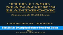 Read the Case Manager s Handbook  Ebook Free