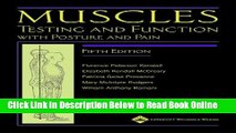 Read Muscles: Testing and Function, with Posture and Pain (Kendall, Muscles)  Ebook Free