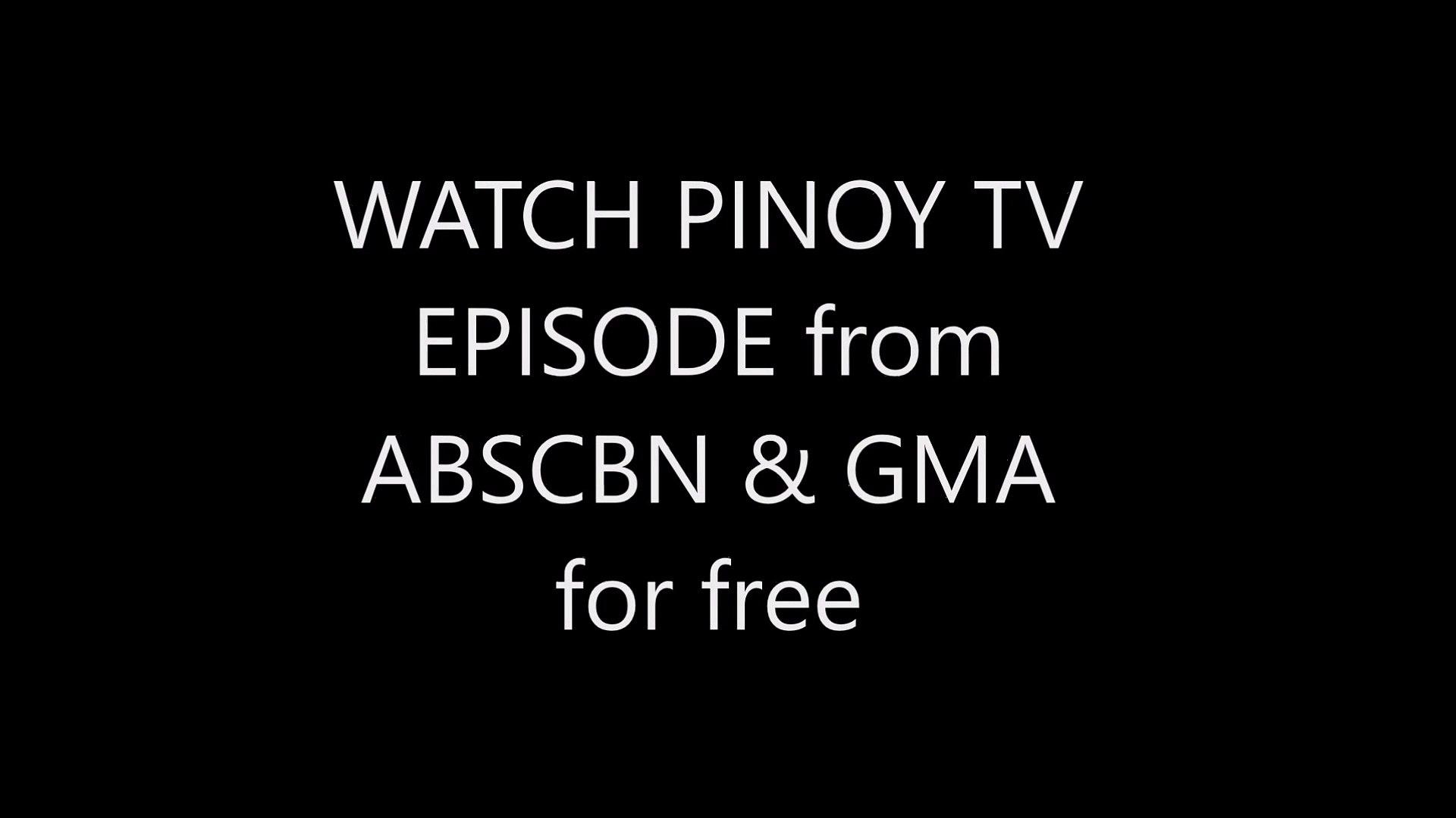 Tv Pinoy flix