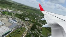 Landing Takeoff at Peshawar - Scenery Project Virtual Pakistan FSX