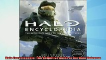 FREE DOWNLOAD Halo Encyclopedia The Definitive Guide to the Halo
