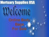 Find Premium Quality Body Bags at Mortuary Supplies Online store