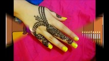 Easy DIY_ Beautiful henna mehndi jewellery style Tutorial for eid and parties
