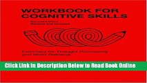 Download Workbook for Cognitive Skills: Exercises for Thought-processing and Word Retrieval, 2nd