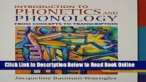 PDF] Introduction to Phonetics and Phonology: From Concepts to