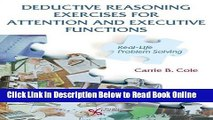 Read Deductive Reasoning Exercises for Attention and Executive Functions: Real-Life Problem