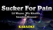 Sucker for Pain - Lil Wayne, Wiz Khalifa & Imagine Dragons Official Karaoke Instrumental Lyrics
