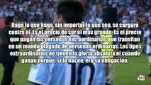 Lionel Messi • REFLEXIÓN SELECCIÓN ARGENTINA.