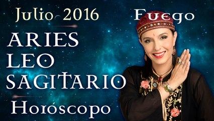Horóscopo ARIES, LEO Y SAGITARIO Julio 2016 Signos de Fuego por Jimena La Torre