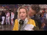In Cologne, reporter groped while covering Carnival on live television [FOOTAGE]