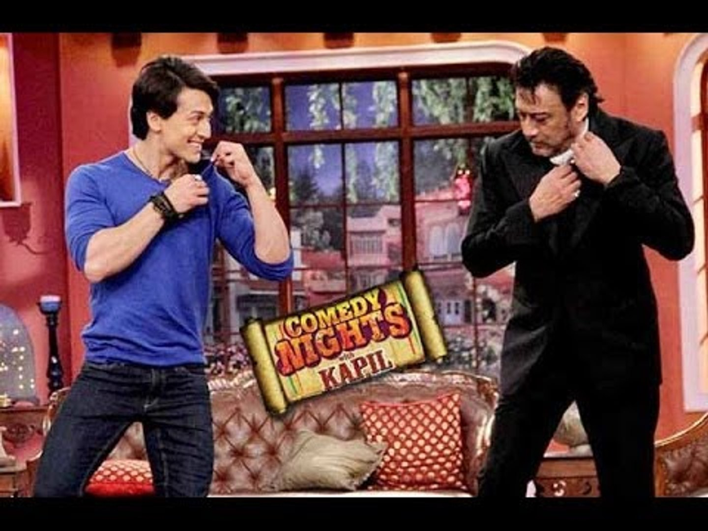 Tiger Shroff & Jackie Shroff on Comedy Nights with Kapil 10th May 2014 Episode