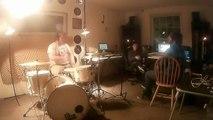 brdane - Brief Demo Tracking w/ Apart O' Heart (Day 1 - Drums)