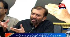 Neither there is drinking water nor electricity in Karachi: Farooq Sattar