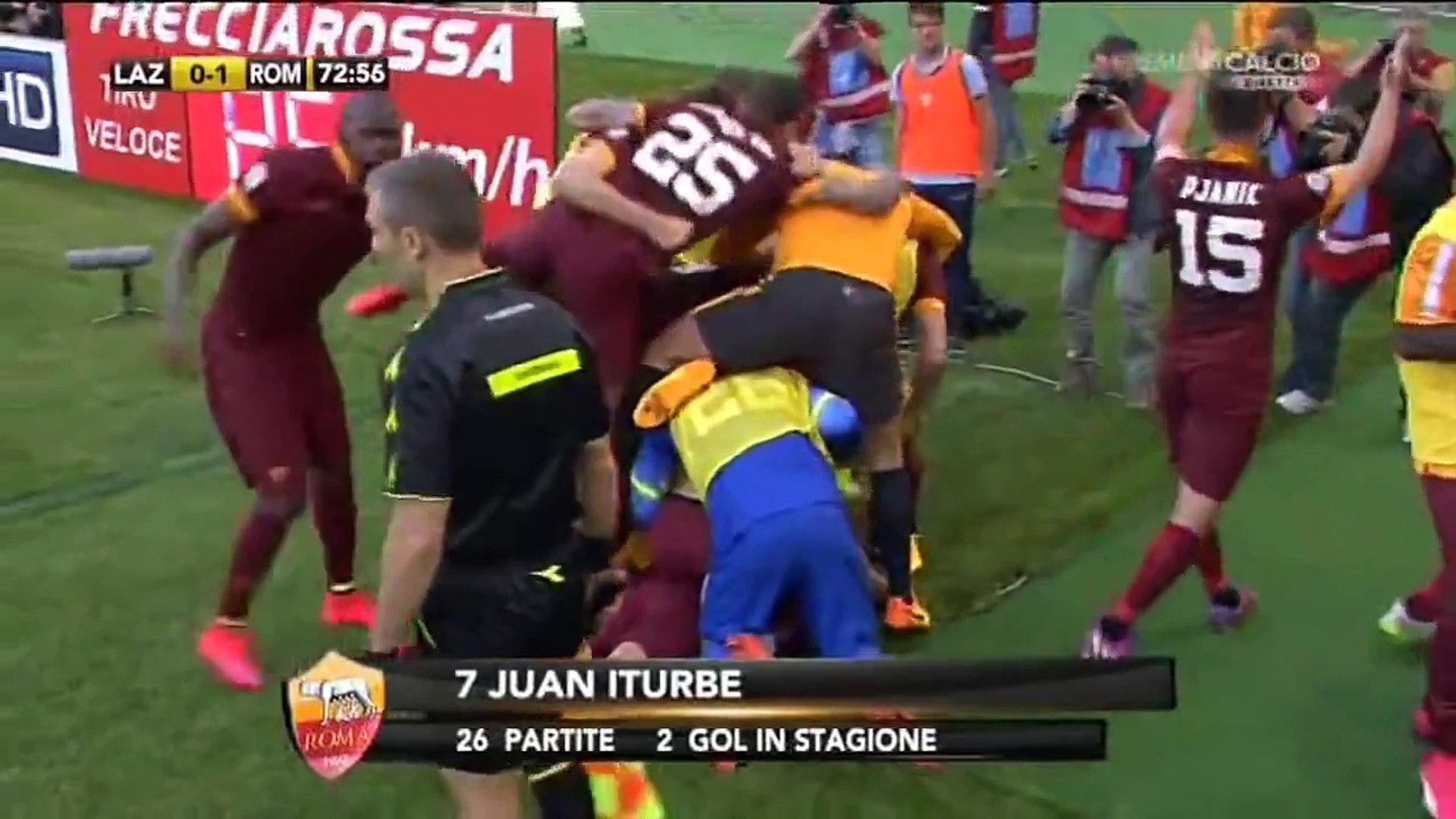 Lazio-Roma 1-2 (25/05/2015) Commento di Carlo Zampa.