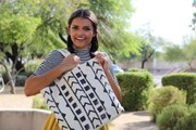 Upgrade Your Shopping Swag With This DIY Mudcloth Tote