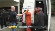 SC: Polícia prende quadrilha especializada em roubos a residência