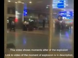 Atatürk airport attack!Moments just after explosion in Istanbul Ataturk Airport, Turkey,
