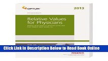 Full E-book Relative Values for Physicians 2018: Relative Values