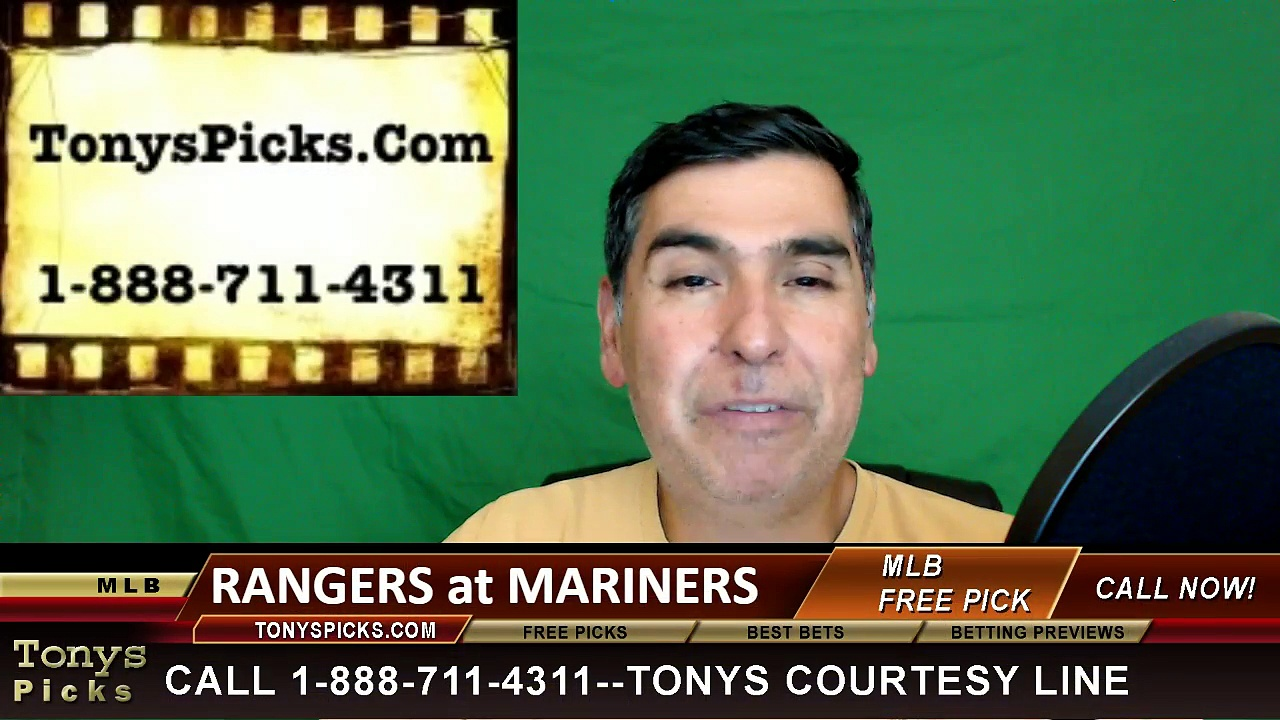 Texas Rangers vs. Seattle Mariners Pick Prediction MLB Baseball Odds Preview 6-11-2016